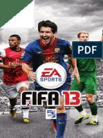 Fifa 13 Manuals PC