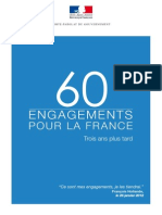 60 engagements pour la France