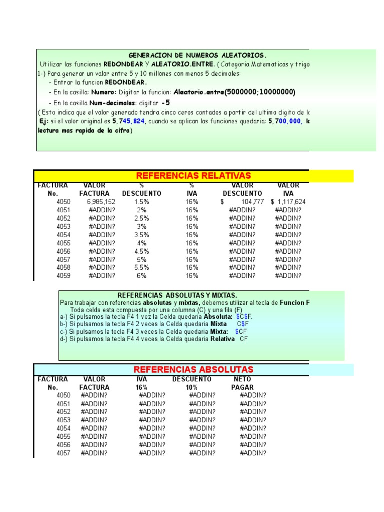 23c9e9b7cec9 Generacion de Numeros Aleatorios. Utilizar Las Funciones ...