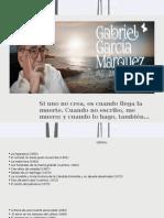Gabriel García Márquez 1927-2014. Cien Años de Realismo Mágico
