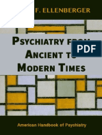 Ellenberger - Psychiatry From Ancient to Modern Times
