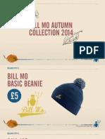 Bill Mo Autumn Collection Catalogue 2014