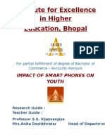 Impact of Smart Phones on Youth by Namita Saini