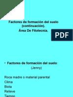 Conti Factores de Formación