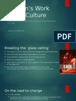 Women's Work - Men's Culture