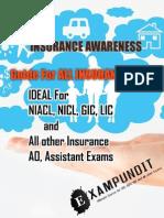 Insurance Awareness PDF by Exampundit
