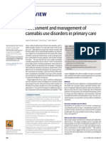 Assessment Management of Cannabis Use Disorders in Primary Care
