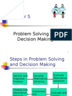 MG 204-Principles of Management-Chapt5