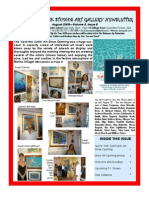 Doongalik Studios August 2009 Art Newsletter