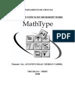 Math Type GUIA