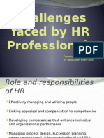 Challenges Faced by Hr Professionals