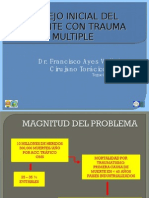 Manejo Inicial Del Paciente Con Trauma Multiple
