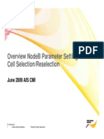 Overview and Cell Se-Relection