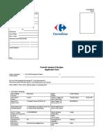 Application FApplication Form draft 1 Carefouorm Draft 1 Carefour