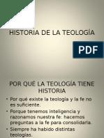 Historia de La Teología