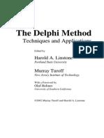 Linstone and Turoff - The Delphi Method