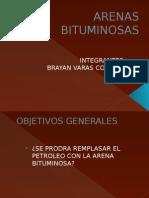 Arena Bituminosa