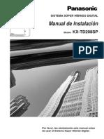 Manual instalacion KX-T208SP