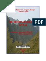 Mic Dictionar Geografic Scolar_Marculet_-Stefan.