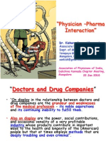 Doctor Pharma Industry Interaction