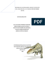 ACERCAMIENTO A LA HISTORIA DE LOS DINOSAURIOS.doc