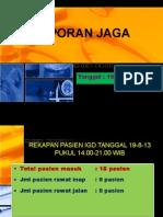 Laporan Jaga 19-08