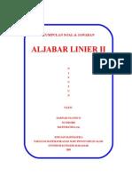 Solusi Aljabar Linier Ii1