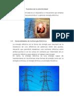 Fuentes de La Electricidad
