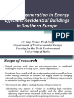 PPT Micro-CCHP in Energy Efficient Residential Buildings in Southern Europe (Full)