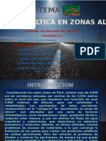 Expo de Mezclas Asfalticas en Zonas Altas