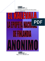 Anonimo El Kálevala, Epopeya Nacional de Finlandia