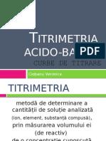 Titrimetria acido-bazica