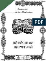 Visarion Moldoveanu - Rătăcirea Baptistă