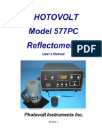 PHOTOVOLT Model 577PC Reflectometer User's Manual