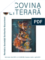 Bucovina literara nr. 3-4, 2015