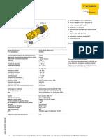 Datasheet sensor capacitivo