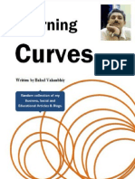 Learning Curves an E-Book by Bakul Valambhiya