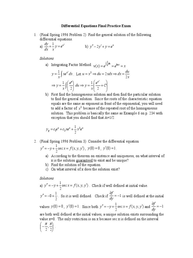 De Final Solutions | Eigenvalues And Eigenvectors | Theoretical Physics