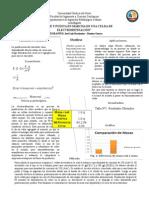 Informe Electrometalurgia
