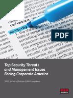 2012 Top Security Threats