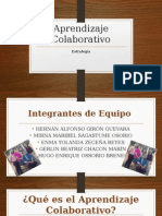diapositivas aprendizaje colaborativo
