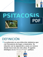 Psitacosis diagnóstico patología tratamiento