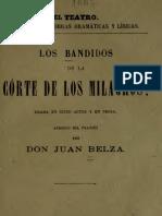 (1878) Los Bandidos de La Corte de Los Milagros
