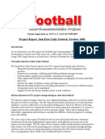 The second Free Report of Football Between Communities