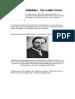 Contexto Historico Del Modernismo
