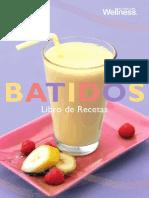 Batidos, libro recetas