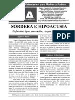 Sordera e Hipoacusia