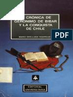 La Crónica de Geronimo de Bibar y la Conquista de Chile