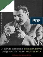 Iósif Stalin; A dónde concudce el nacionalismo del grupo de Tito en Yugoslavia, 1948.pdf