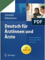 Deutsch Fuer Aerztinnen Und Aerzte